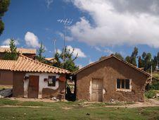 Free Perubian Adobe House Royalty Free Stock Image - 3165246
