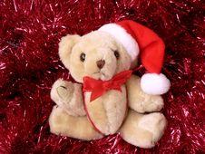 Christmas Bear Royalty Free Stock Photo