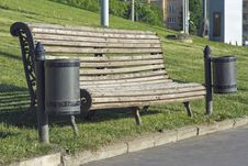 Free Bench In Old Style Stock Images - 3165784
