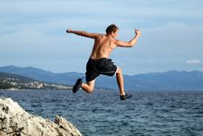 Free Let S Jump Royalty Free Stock Photos - 3166308
