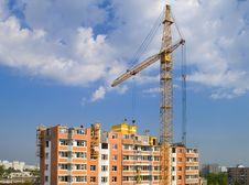 Free Construction Crane Stock Image - 3166991