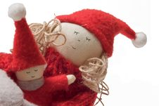 Free Handmade Christmas Doll Stock Photos - 3168043