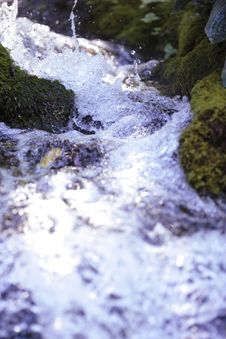 Free Rushing Waterfall Stock Image - 3169711