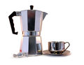 Free Coffee Pot, Candy And Cup Royalty Free Stock Images - 31600909