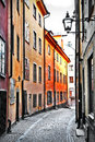 Free Streets Of Old Town . Stocholm Royalty Free Stock Photo - 31603515