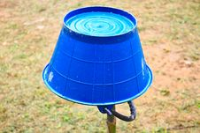 Free Water Buckets In A Garden Royalty Free Stock Photography - 31600837