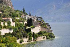 Limone, Lake Garda, Italy Stock Photography