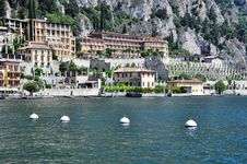 Limone, Lake Garda, Italy Stock Images