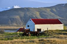 Free Farm In Iceland On Sunset Royalty Free Stock Photo - 31604195