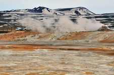Free Geothermal Area And Mountain Stock Images - 31604584