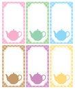 Free Tea Label Stock Image - 31610461