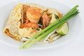Free Stir-fired Rice Noodle With Prawns Royalty Free Stock Image - 31612126