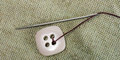 Free Sewing Needle And Thread With Buttons Royalty Free Stock Image - 31613786