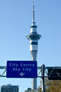 Free Auckland Sky Tower Royalty Free Stock Image - 31619896