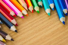 Free Colored Pencils Royalty Free Stock Photo - 31620455