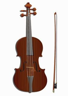 Free Violin And Bow Stock Images - 31627064