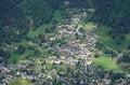 Free Bird-eye View On Chamonix Royalty Free Stock Images - 31634849