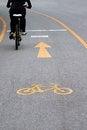 Free Bicycle Lane Royalty Free Stock Image - 31637676