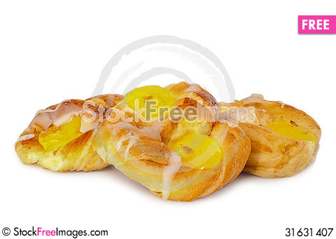 Free Freshly Baked Danish Pastry Royalty Free Stock Photography - 31631407