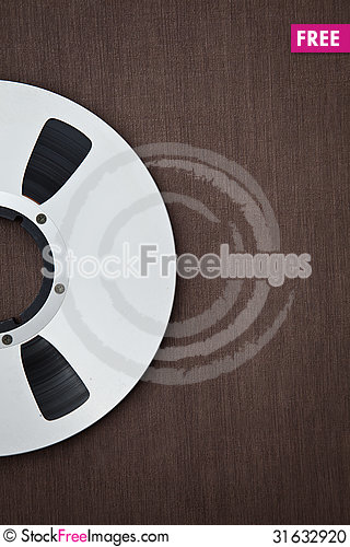 Free Professional Audio Metal Reel Stock Photo - 31632920