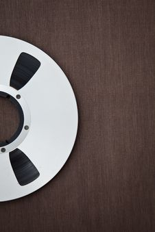 Free Professional Audio Metal Reel Stock Photo - 31632920