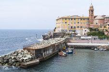 Free Genova Nervi Royalty Free Stock Photos - 31634838