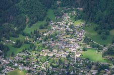 Free Bird-eye View On Chamonix Royalty Free Stock Images - 31634849