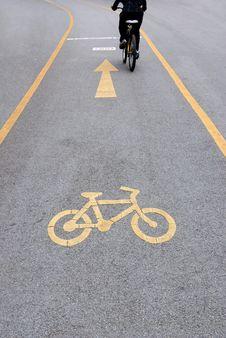 Free Bicycle Lane Stock Images - 31637694