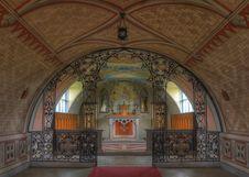 Free Chapel Interior Stock Image - 31638151