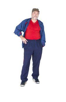 Free Grandpa Plays Sports Stock Photos - 31639943
