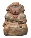 Free Ancient Mayan Clay Figure Isolated Royalty Free Stock Photo - 31645685