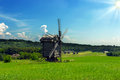 Free Windmills Old Landscape Stock Image - 31646731