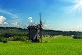 Free Windmills Old Landscape Stock Image - 31646731