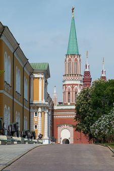 Free Moscow Kremlin Royalty Free Stock Images - 31644389