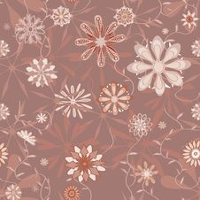 Free Pattern Vintage Flower Seamless Royalty Free Stock Photo - 31649195