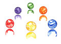 Free Marbles Watercolor Stock Images - 31654654