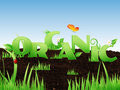 Free Illustrated Word Organic Stock Images - 31656104