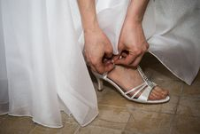 Free Shoes Bride Stock Photo - 31658430