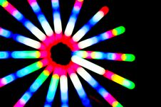 Free Colorful Lighting Circle Stock Photo - 31659660