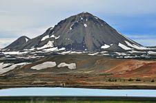 Volcano Peak Stock Photography