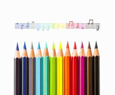 Free The Colors Of Music Royalty Free Stock Images - 31664609