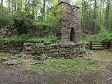Free Iron Furnace Built In The 1800 S Royalty Free Stock Photography - 31665677