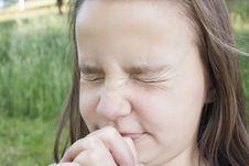 Free Girl Praying Hard Royalty Free Stock Images - 31665749