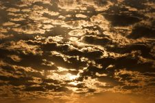 Free Sky At Sunset Royalty Free Stock Photography - 31666387