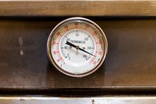 Free The Temperature Gauge Royalty Free Stock Photos - 31667478