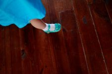 Children S Leg Stock Photography