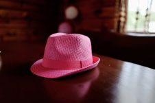 Free Pink Hat Royalty Free Stock Photo - 31682775