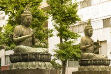 Free Asakusa Buddhas Royalty Free Stock Photo - 31682845