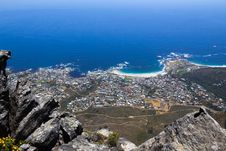 Free Camps Bay And Clifton Panoramic View From Table Mountain Stock Images - 31685564