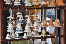 Free Clay Bells Royalty Free Stock Image - 31690976